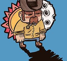 Little Sheriff by Holzilla