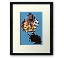 Little Sheriff Framed Print