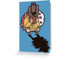 Little Sheriff Greeting Card