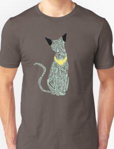 """Lying Cat- """"lying"""" - cut out T-Shirt"""