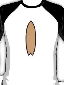RetroFish surfboard T-Shirt