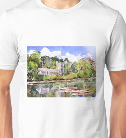 St Just in Roseland Church Unisex T-Shirt
