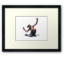 90s Skater Framed Print