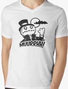 Muurrhh... Mens V-Neck T-Shirt