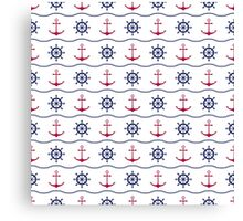 Nautical print Canvas Print