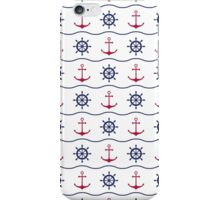Nautical print iPhone Case/Skin
