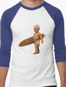 Baby Surfer Men's Baseball ¾ T-Shirt