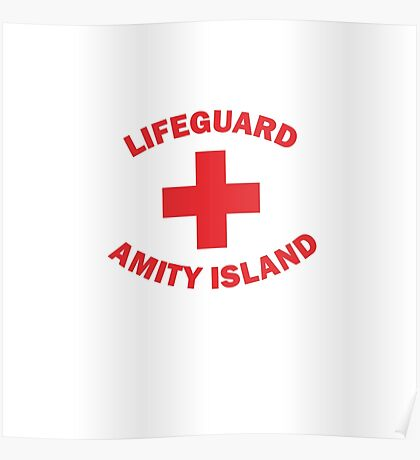 Lifeguard Amity Island Poster