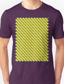 3D Boxes T-Shirt