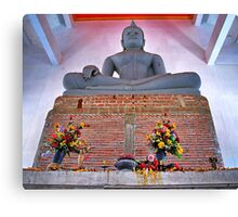 Unfinished Buddha  - Thailand Canvas Print