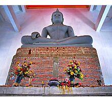 Unfinished Buddha  - Thailand Photographic Print