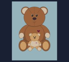 TWO TEDDY BEARS #2 One Piece - Short Sleeve