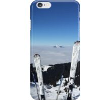 Ski @ the TOP iPhone Case/Skin