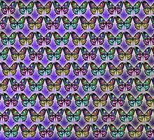 Simple Butterfly Duvet by GolemAura