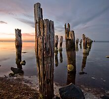 pier posts by Lisa  Kenny