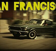San Francisco & Muscle Cars by clandestino