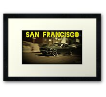 San Francisco & Muscle Cars Framed Print