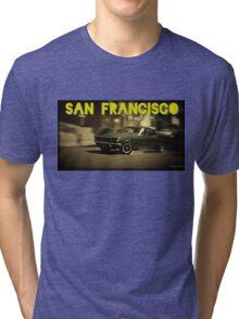 San Francisco & Muscle Cars Tri-blend T-Shirt