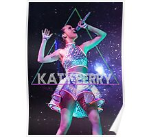 Katy Perry Prism Space Poster