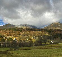 Torver Village by Jamie  Green