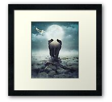 Guide You Through the Darkness Framed Print