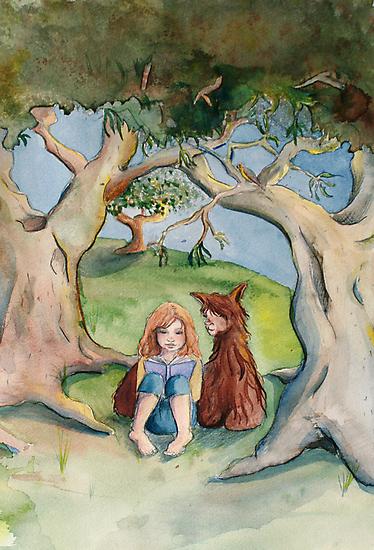 Cara and Clovis by Sarah  Mac