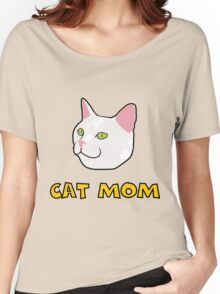 Cat mom Women's Relaxed Fit T-Shirt
