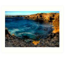 """Ocean Blue"" Art Print"