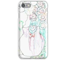 Line Flowers iPhone Case/Skin