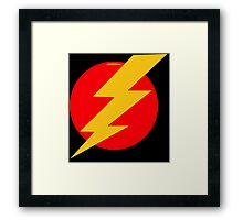 Lightning Bolt Framed Print