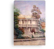 'Carlton Terraces' Metal Print