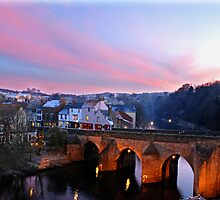 River Wear at Dusk by Mandy Fell