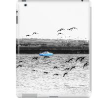 Little Blue Boat iPad Case/Skin
