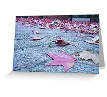 Leafy Layer Greeting Card