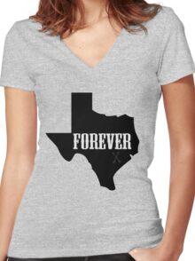 Texas Forever (Friday Night Lights) Women's Fitted V-Neck T-Shirt