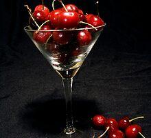 Cherries by Joy  Rector