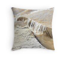 Rock flow Throw Pillow