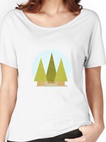 Tree Landscape Women's Relaxed Fit T-Shirt