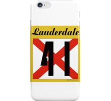 ALABAMA:  41 LAUDERDALE COUNTY iPhone Case/Skin