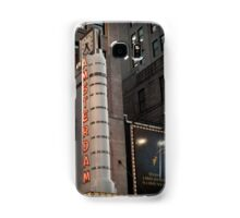 Amsterdam Theater in Times Square- Kodachrome Postcards Samsung Galaxy Case/Skin