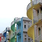 Singapore Stairways by Louise Fahy