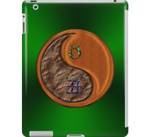 Taurus & Ox Yin Wood iPad Case/Skin