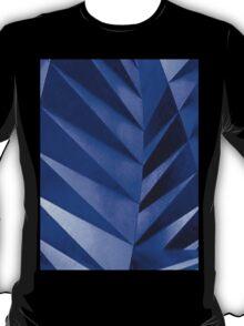 Blue Zebra Leaves T-Shirt