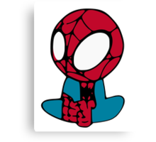 Mini Spiderman Canvas Print