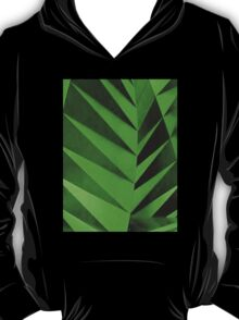 Green Zebra Leaves T-Shirt