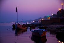 Purple Ganges by phil decocco