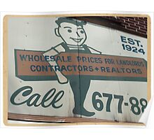 Wholesale prices for landlords, contractors, realtors - Kodachrome Postcard  Poster