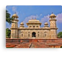 Itmad-Ud-Daulah's Tomb, Agra, India Canvas Print