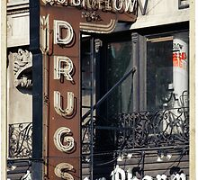 Drugstore in the West Village - Kodachrome Postcards by Reinvention