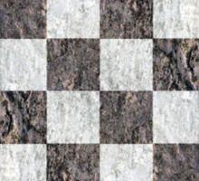 Vintage chess - grunge Sticker